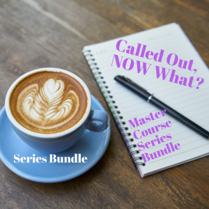 Called Out, Now What: Mastery Course Bundle ( Video Series)