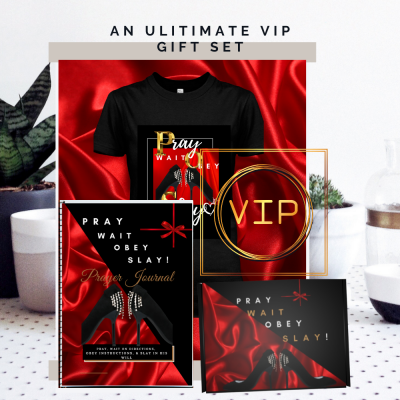 Pray Wait Obey Slay Ultimate VIP Gift Set