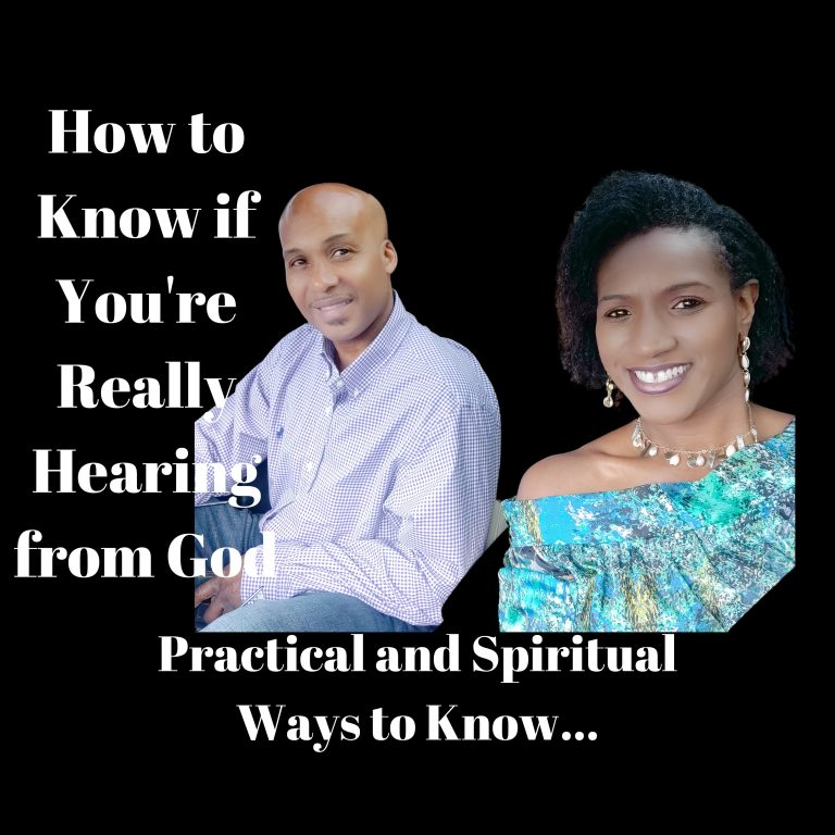 How to Hear God's Voice for Yourself